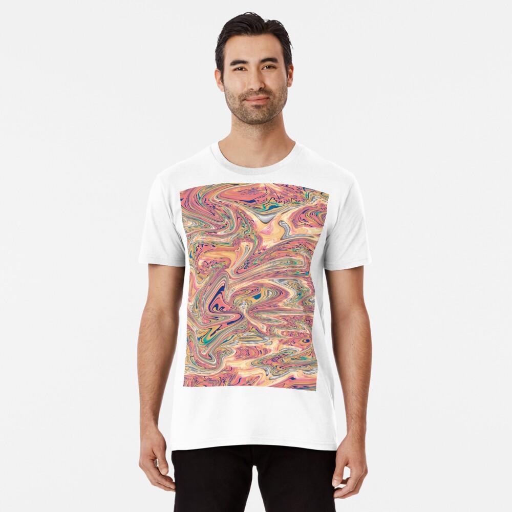 LaCroix Pamplemousse Marmor Premium T-Shirt