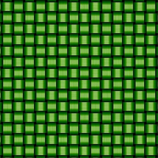 Weave World (green) by Scott Mitchell