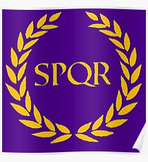 SPQR Camp Jupiter Poster