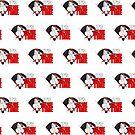 It's Game Time - Baseball (Red) (Pattern) by Adam Santana