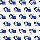 It's Game Time - Baseball (Blue) (Pattern) by Adam Santana