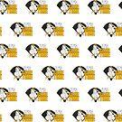 It's Game Time - Baseball (Yellow) (Pattern) by Adam Santana