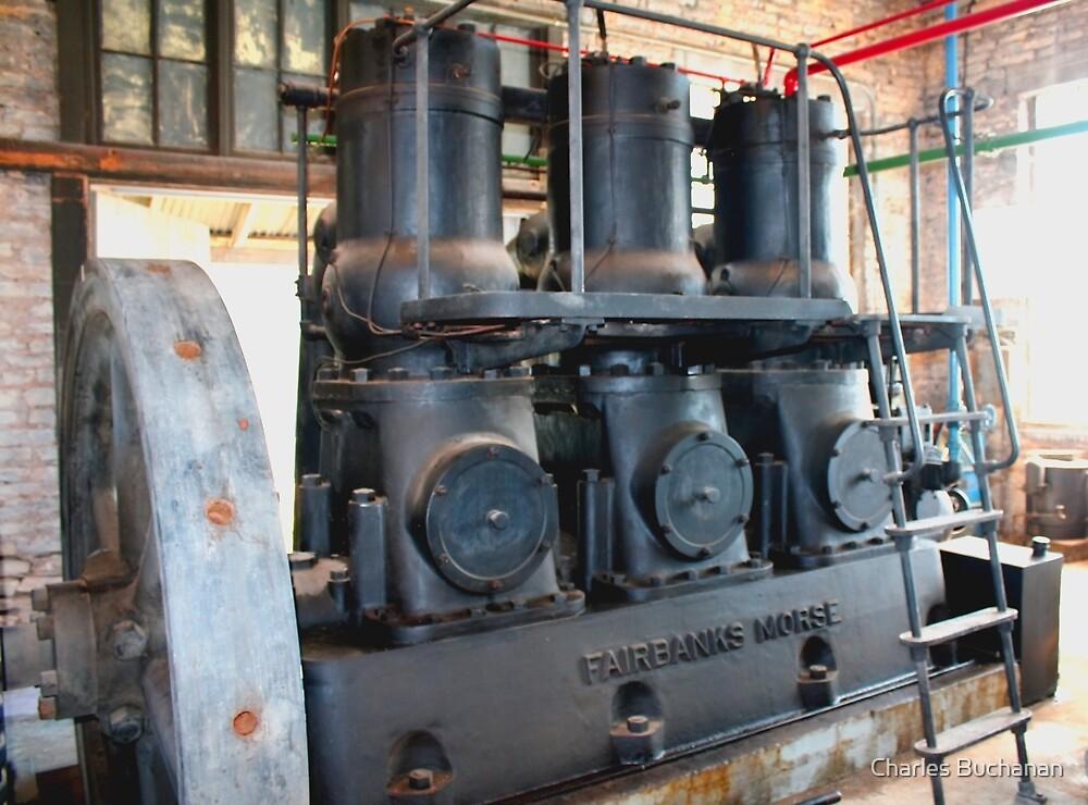 Fairbanks Morse Engine by Charles Buchanan