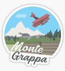 Monte Grappa Sticker