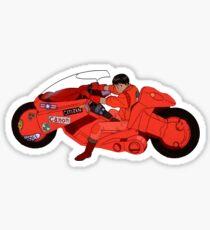 Akira Bike Sticker
