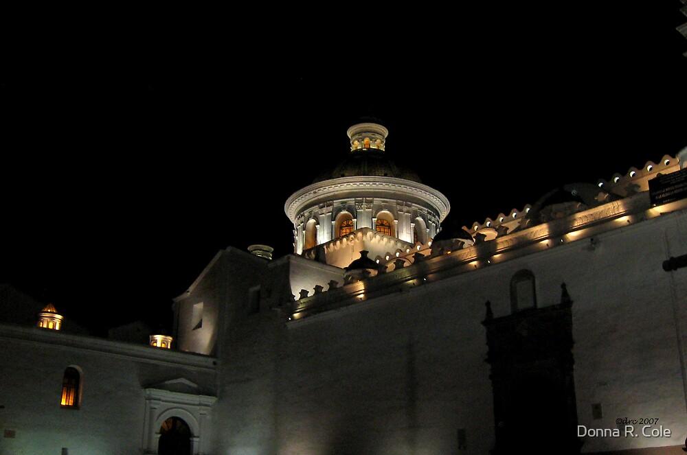 Iglesia La Merced by Donna R. Cole
