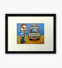 Collect Vehicle & Equipment, Check Same Framed Print