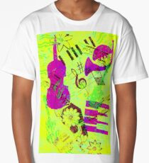 Psychedelic Music  Long T-Shirt