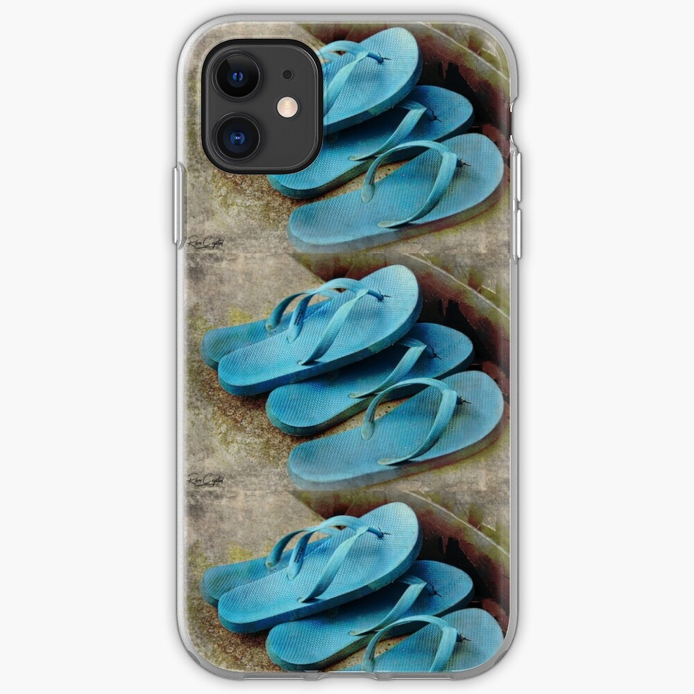 It's Flip Floppin Time iPhone Case & Cover
