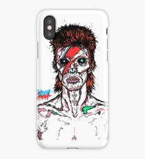 Aladdin Sane - David Bowie Infected Zombie.  iPhone Case/Skin