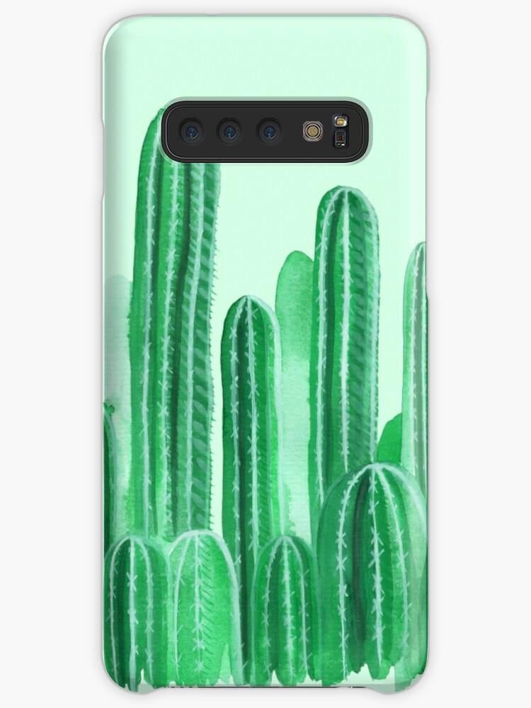 Catcus Garden Samsung S10 Case