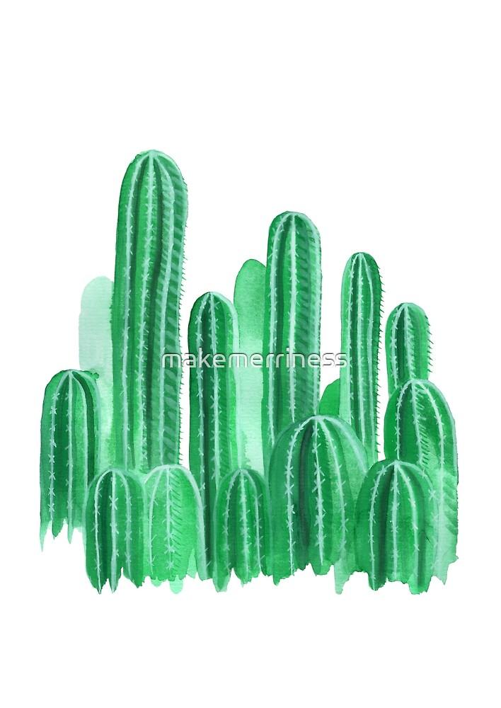 Cacti Garden by makemerriness