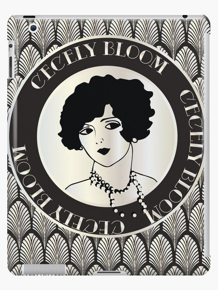 Cecely Bloom Art Deco Icon Portrait by CecelyBloom