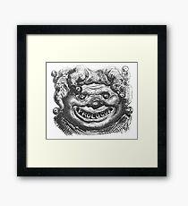 Nightmarish Jester (Balzac, Honoré de) (Doré, Gustave) Framed Print