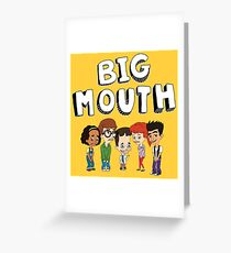 Big Mouth - Netflix Greeting Card