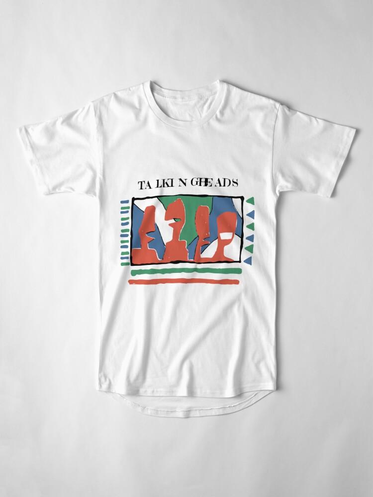 Alternative Ansicht von Talking Heads - Gelb 80 & nbsp; s Longshirt