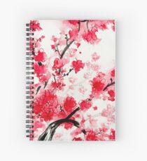 Kirschblüten Spiralblock