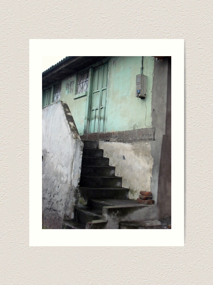 Alternate view of Steps to Where? Art Print