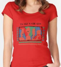 Talking Heads - Yellow 80's Women's Fitted Scoop T-Shirt