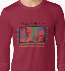 Talking Heads - Yellow 80's Long Sleeve T-Shirt