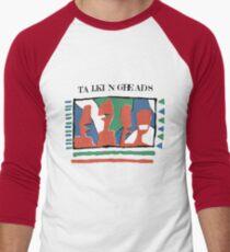 Talking Heads - Yellow 80's Men's Baseball ¾ T-Shirt
