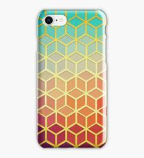 Mosaic with sunset iPhone Case/Skin