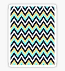 Colorful Chevron Sticker