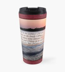 A Fragment from Lord Byron Travel Mug