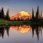 Mount Rainier reflection from Tipsoo Lake by Pierre Leclerc Photography