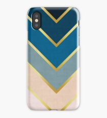 Chevron golden iPhone Case/Skin
