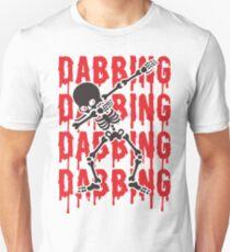 Dabbing Skeleton Shirt - Funny Halloween  T-Shirt