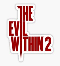 The Evil Within 2 - TEW T Shirts  Sticker