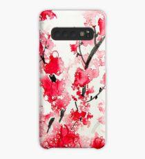 Cherry Blossoms Case/Skin for Samsung Galaxy