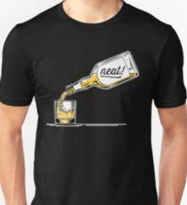 Whiskey - Neat   Bourbon Drinkers Tee Unisex T-Shirt