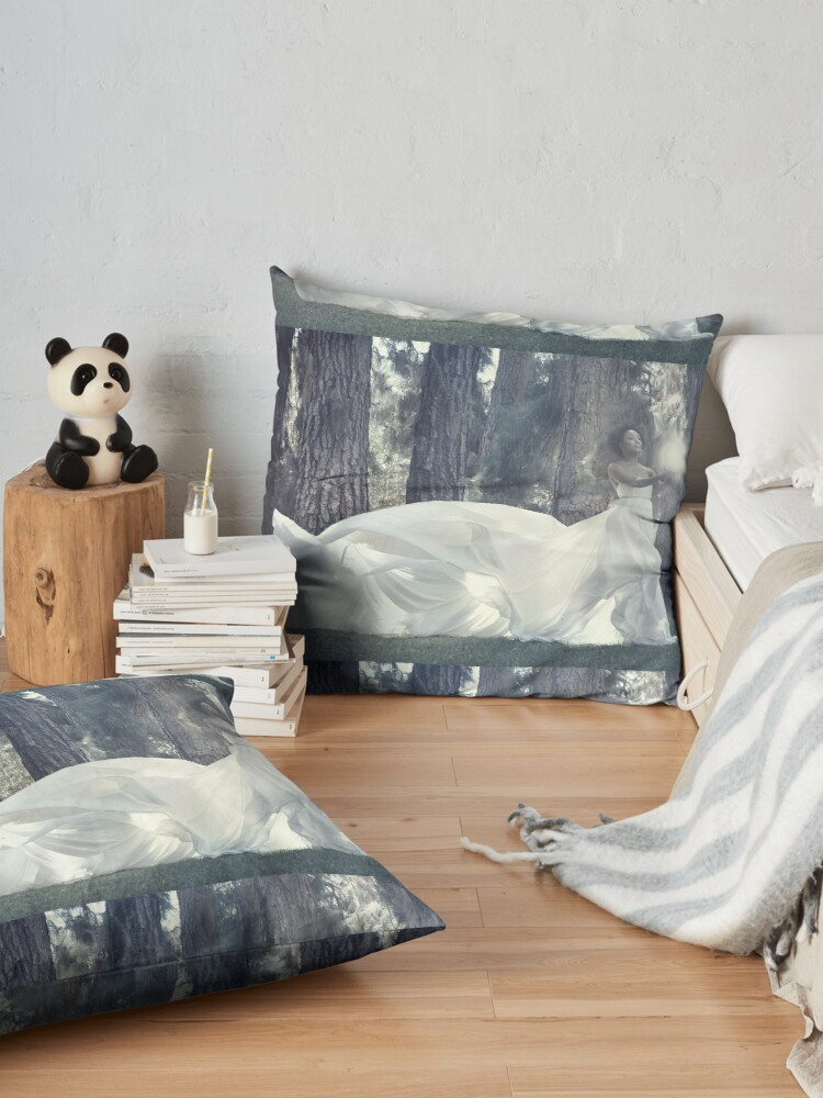 Alternate view of Soul Retriever  Floor Pillow