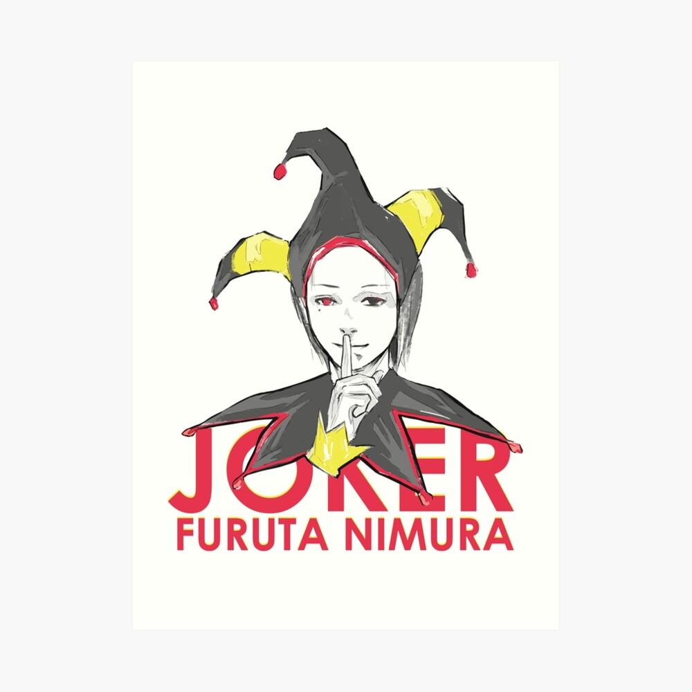 Furuta Nimura Joker Lámina artística