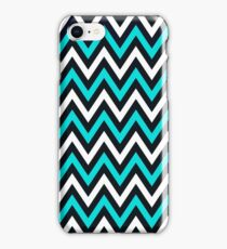 Blue Chevron iPhone Case/Skin
