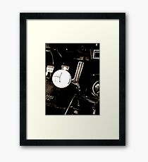 Four on the Floor Framed Print