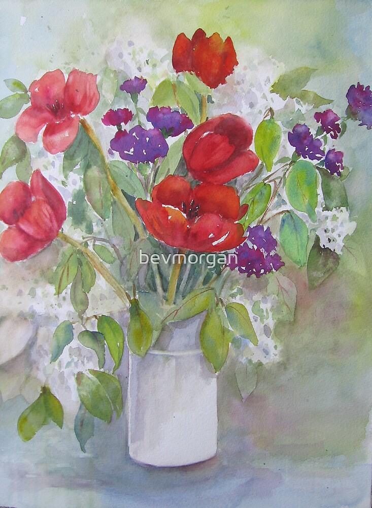Spring in a Vase by bevmorgan