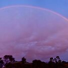 Rainbow at sunset by Ian Berry