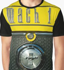 F M Mach 1 Emblem -0115c Graphic T-Shirt