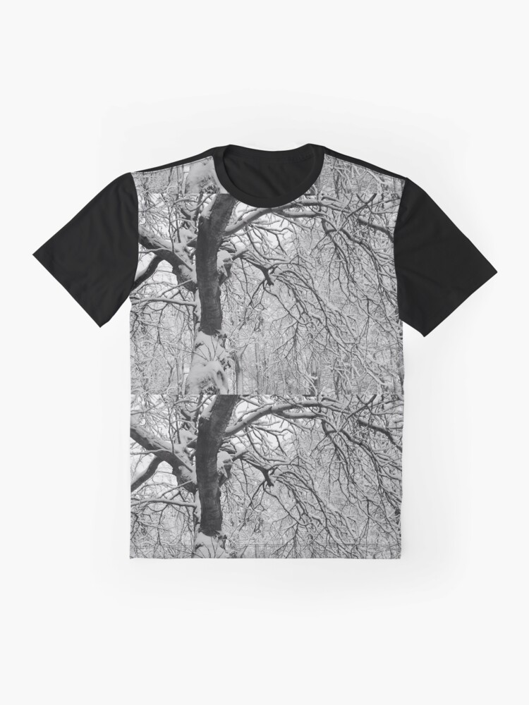 Alternate view of Frozen Forest Graphic T-Shirt