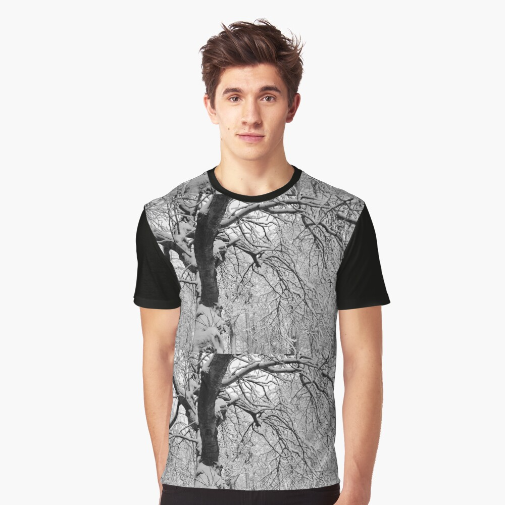 Frozen Forest Graphic T-Shirt