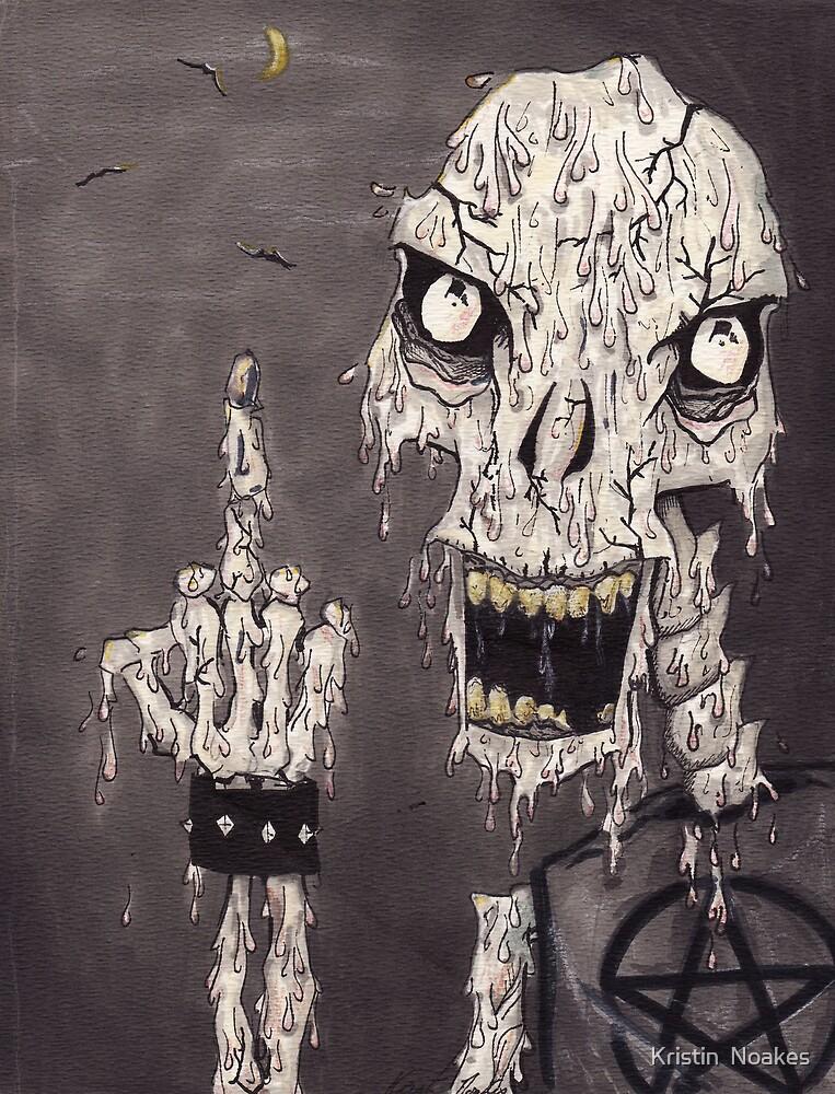 zombie by Kristin  Noakes