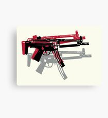 MP5 Andy Warhol Canvas Print
