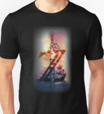 zelda - At lunchtime, we see sunburned American engineers and foremen T-Shirt