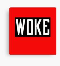 woke  Canvas Print