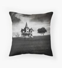 Camp Grim Throw Pillow
