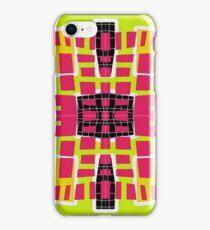 Modern abstract geometric pattern iPhone Case/Skin