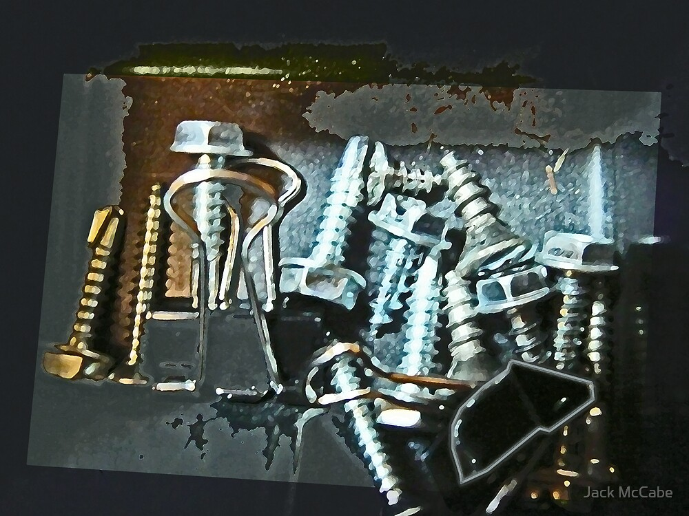 Sparkling Screws and Such, a Surprise in the Storage Bin  by Jack McCabe